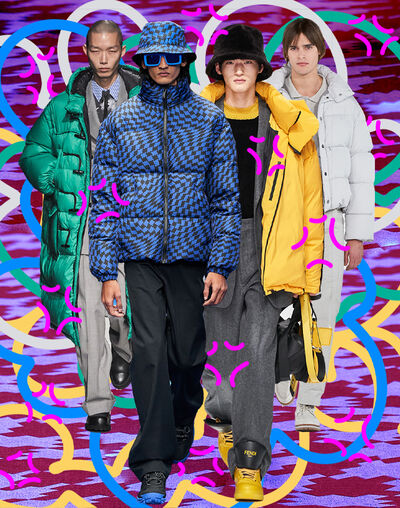 Puffer jackets, to the rescue!