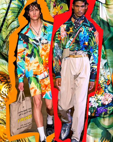 A Tropical Paradise to wear