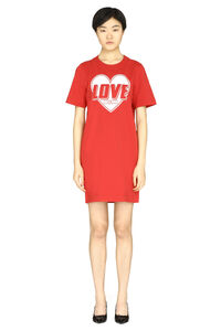 Cotton mini-dress, Mini dresses Love Moschino woman