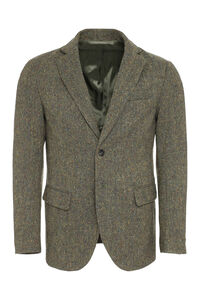 Single-breasted two-button blazer, Single breasted blazers GM 77 man