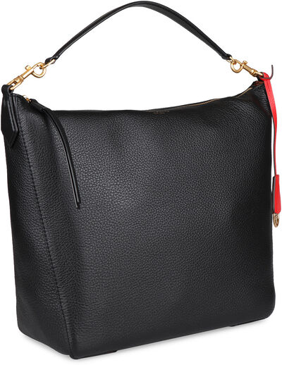 Perry leather hobo-bag