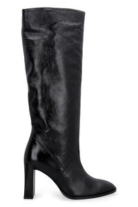 Camilla leather boots, Heeled Boots BY FAR woman