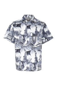 Printed cotton shirt, Short sleeve Shirts Buscemi man