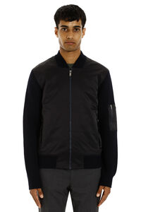 Cardigan with padded frontal panel, Cardigans Z Zegna man