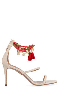 India leather sandals, High Heels sandals Aquazzura woman
