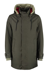 Parka with removable padding, Parkas add man