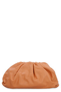 The Pouch leather clutch, Clutch Bottega Veneta woman
