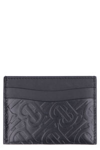 Leather card holder, Wallets Burberry woman