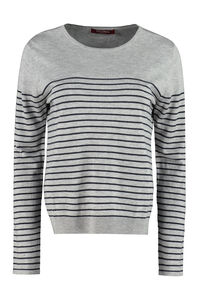 Nupar striped pullover, Crew neck sweaters Max Mara Studio woman