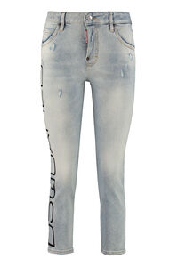 Cropped-fit jeans, Cropped Jeans Dsquared2 woman