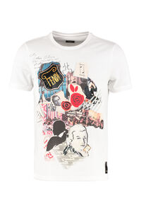 Printed short sleeve cotton T-shirt, Short sleeve t-shirts Fendi man