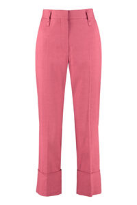 Cotton-blend straight-leg trousers, Straight Leg pants Brunello Cucinelli woman