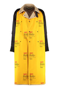 Long trench coat, Raincoats And Windbreaker Off-White man