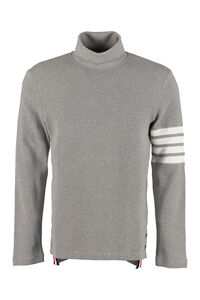 Long-sleeve cotton turtleneck, Turtleneck Thom Browne man