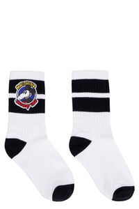 Cotton sport socks, Socks Moschino woman
