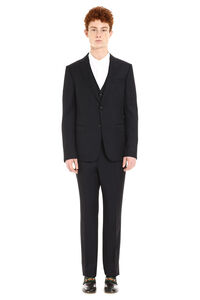 Three-pieces wool suit, Suits Z Zegna man