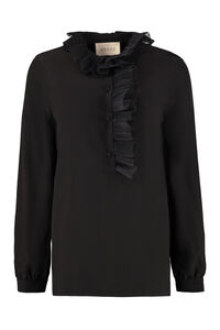 Blouse with ruffles, Blouses Gucci woman