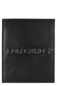 Leather card holder, Wallets Off-White man