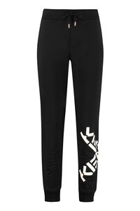 Printed cotton trousers, Track Pants Kenzo woman