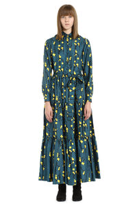 Printed silk shirtdress, Printed dresses La DoubleJ woman