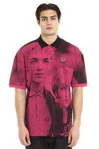 Raf Simons x Fred Perry - Printed cotton polo, Short sleeve polo shirts Fred Perry man