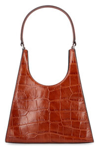 Rey leather handbag, Top handle STAUD woman