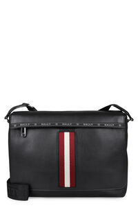 Hawick leather messenger bag, Briefcases Bally man