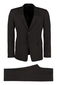 Two-piece cotton suit, Suits Prada man