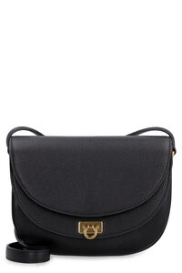 Gancini leather bag, Shoulderbag Salvatore Ferragamo woman
