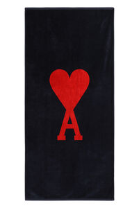 Cotton beach towel, Lifestyle AMI PARIS man