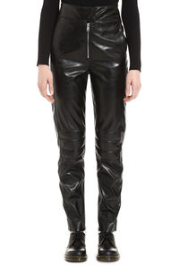 Faux leather trousers, Leather pants MSGM woman