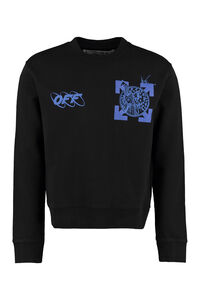 Printed crew-neck sweatshirt, Sweatshirts Off-White man