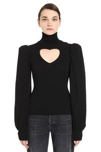 Long-sleeve turtleneck, Turtleneck sweaters MSGM woman