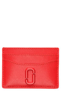 Snapshot leather card holder, Wallets Marc Jacobs woman