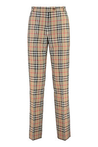 Vintage Check tailored trousers, Trousers suits Burberry woman