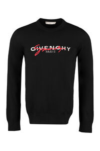 Long-sleeved crew-neck sweater, Crew necks sweaters Givenchy man