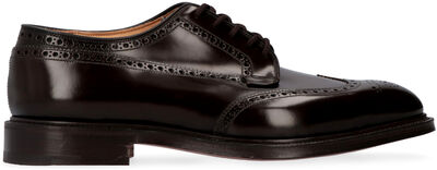 Grafton leather brogue derby shoes
