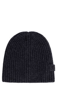 Wool and cashmere hat, Hats Prada man
