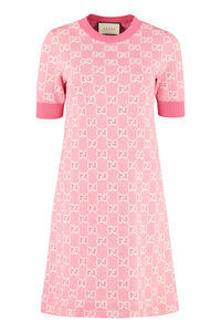 Knitted jacquard dress, Mini dresses Gucci woman