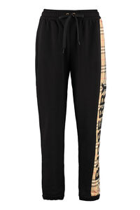 Logo detail cotton track-pants, Track Pants Burberry woman