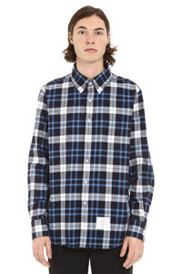 Checked cotton shirt, Checked Shirts Thom Browne man