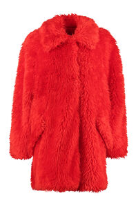Faux fur coat, Faux Fur and Shearling MSGM woman