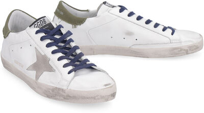 Superstar leather low-top sneakers