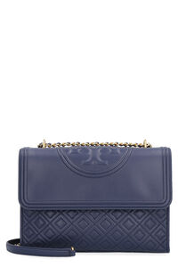 Fleming quilted leather shoulder bag, Shoulderbag Tory Burch woman