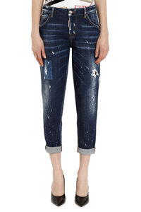 Hockney baggy jeans with 5 pockets, Cropped Jeans Dsquared2 woman
