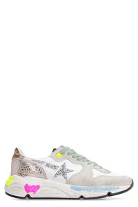 Running Sole leather and suede inserts sneakers, Low Top sneakers Golden Goose woman