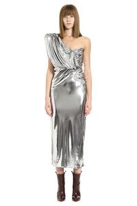 Lamé jersey one-shoulder dress, Gowns & Evening dresses The Attico woman
