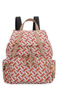 The Rucksack printed nylon backpack, Backpack Burberry woman