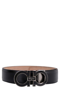 Leather belt with buckle, Belts Salvatore Ferragamo man