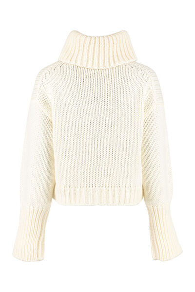 Tricot-knit sweater